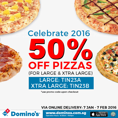 Dominos discount coupons today