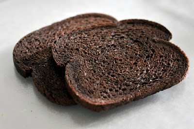Toasted Pumpernickel Bread - Photo by Taste As You Go
