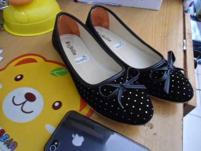 Sepatu Cewek Flat Sepatu Cewek Flat Selena Black