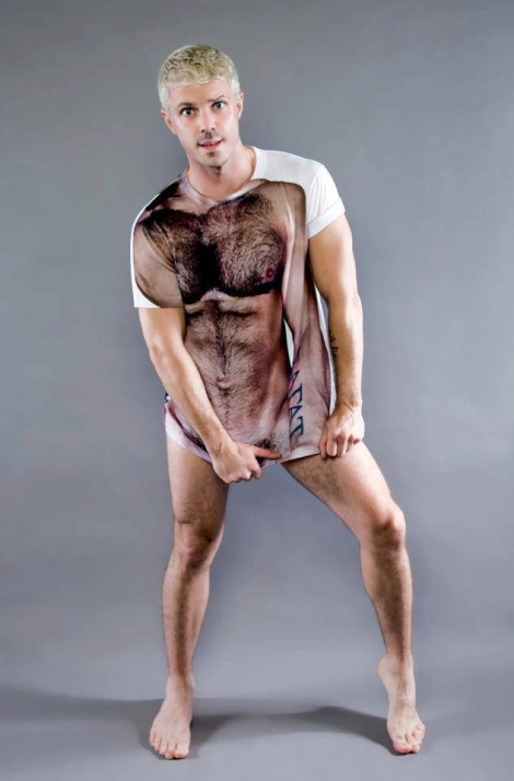 Jake Shears wears KICKSAGAT in Out Magaznie