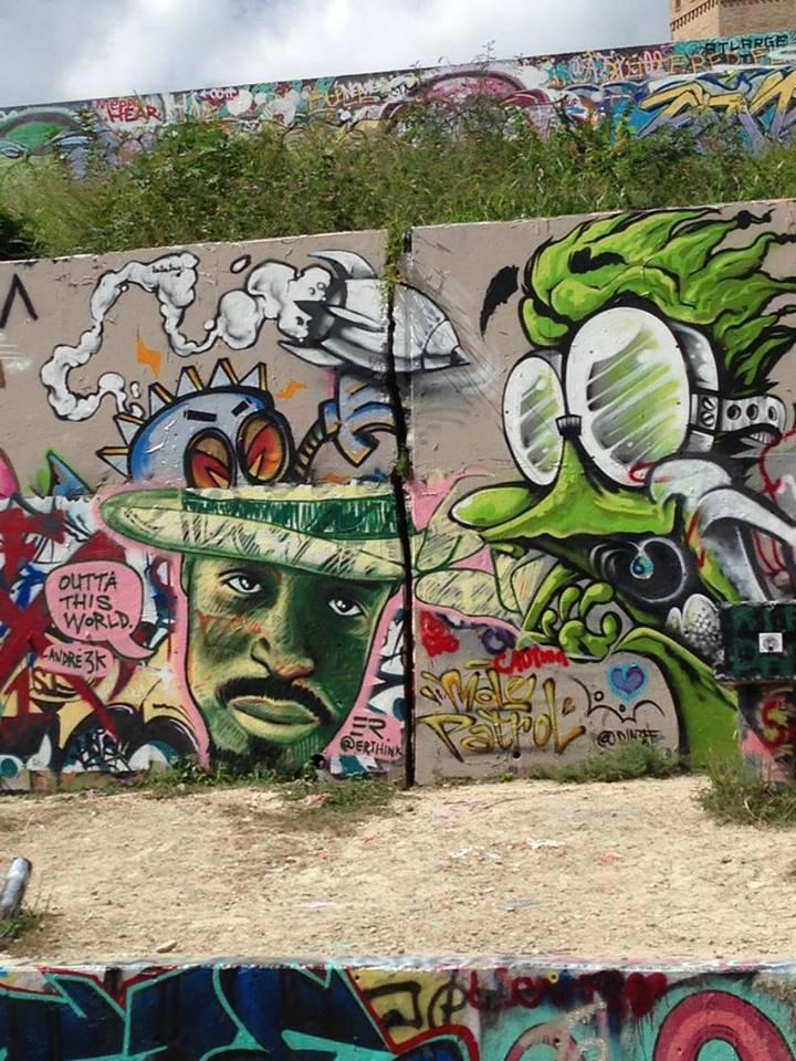 A building roam street art splurge for Masterpiece tattoo staten island