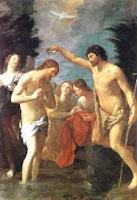 Le Baptême de Jésus.