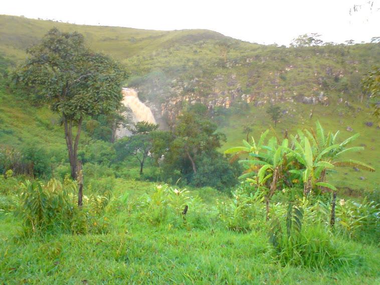 Cachoeira do Piolho no verão, após uma chuva
