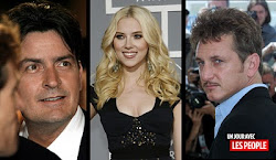 Charlie Sheen  SCARLETT JOHANSSON  Sean Penn 3SUM