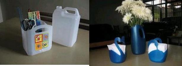 Reciclar Botellas De Plastico Para Decorar ~   de cada manualidad hecha con botellas de pl?stico recicladas
