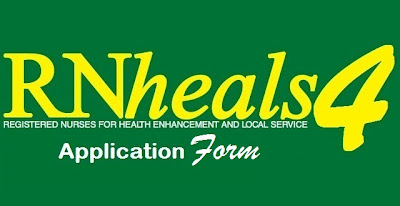 RN Heals 4 - Application Form