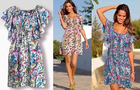 Vestidos moda primavera verao