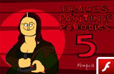 Parodias de Pinturas Famosas 5