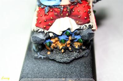 Pintura de la capucha los Gnoblars frontales de Grasientus Dientetoro