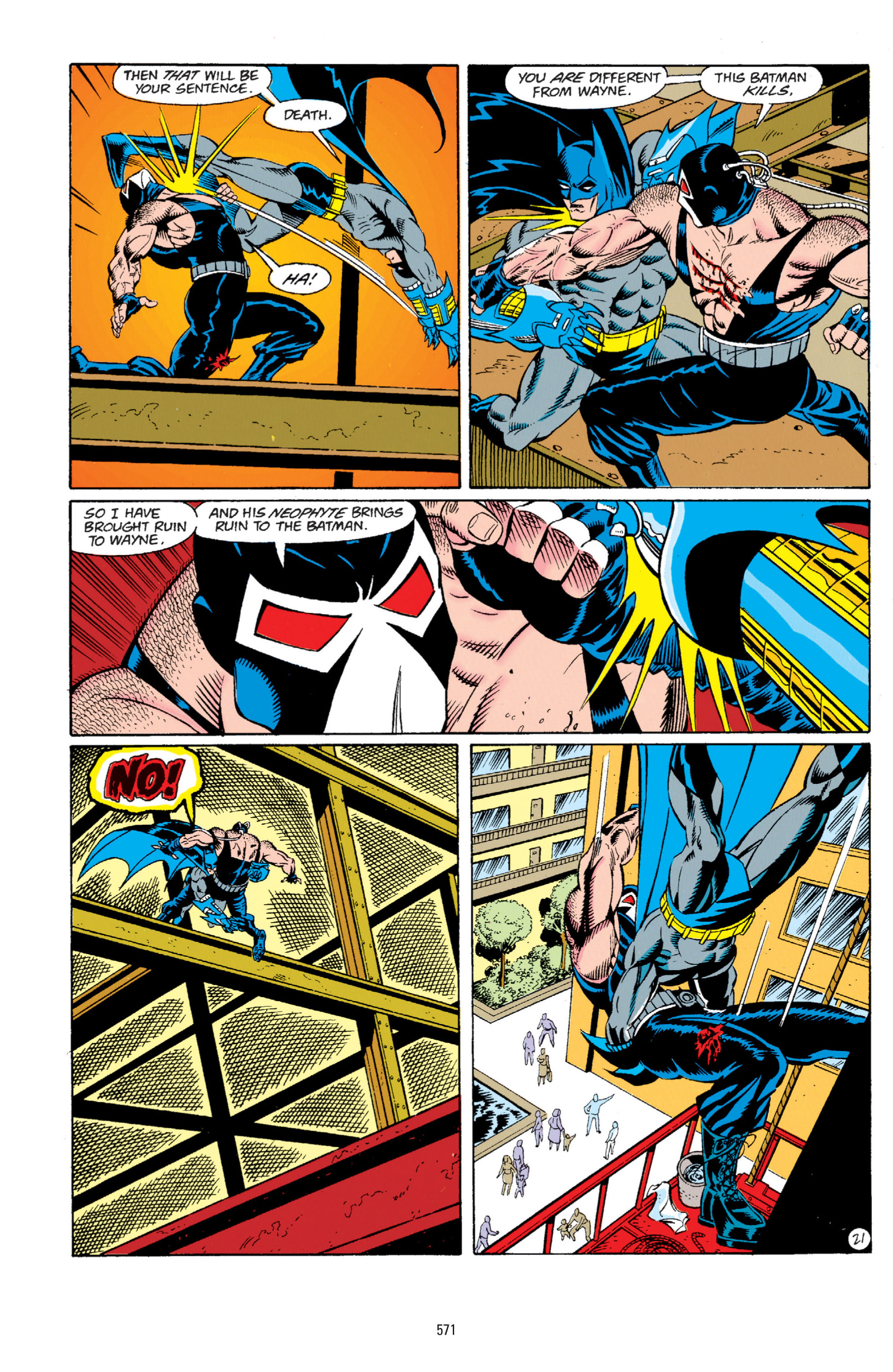 Detective Comics (1937) Issue #666 Page 22