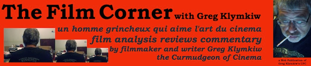 The Film Corner with Greg Klymkiw