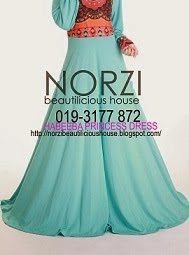 NBH0135 HABEEBA PRINCESS DRESS