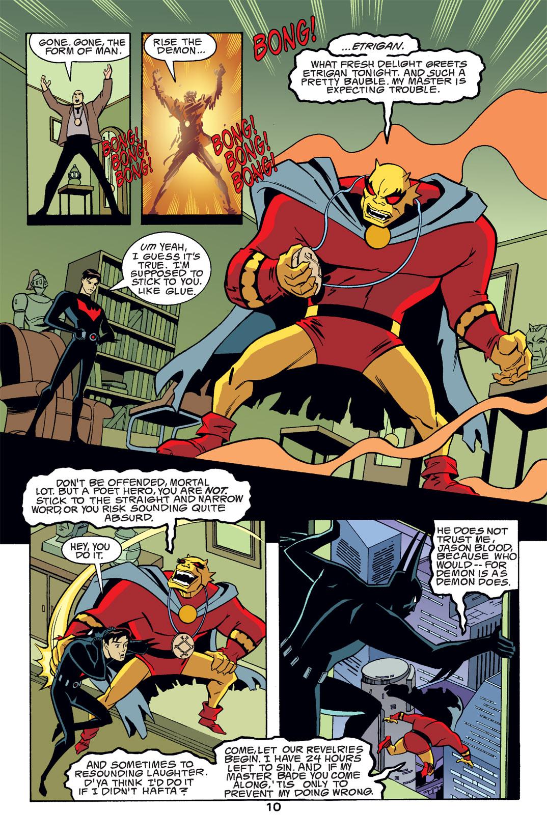 Batman Beyond [II] Issue #14 #14 - English 11