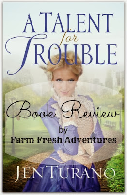 book review talent for trouble jen turano