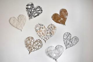 Jantar romântico corações para parede