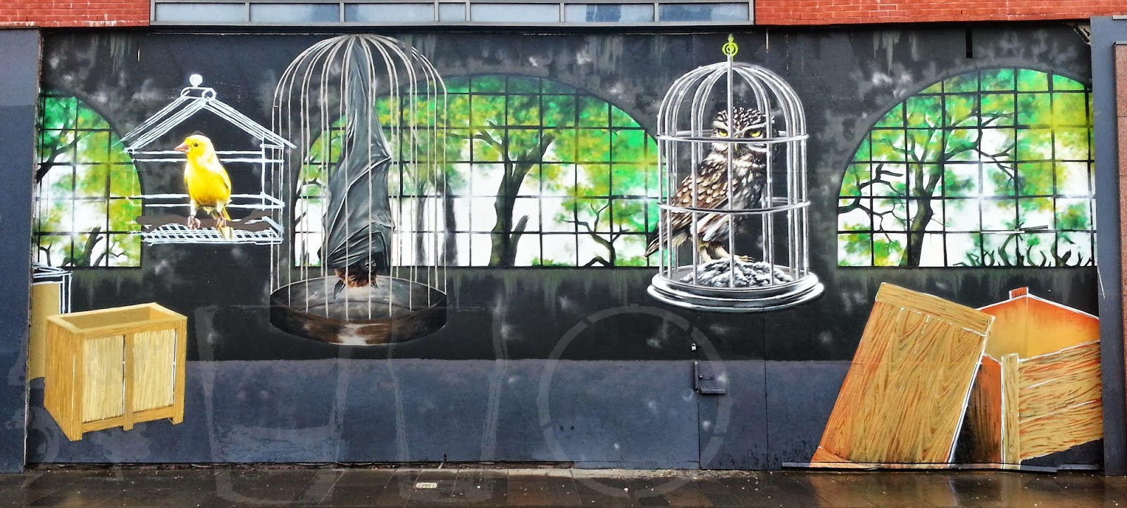 Howard Street Mural, Glasgow