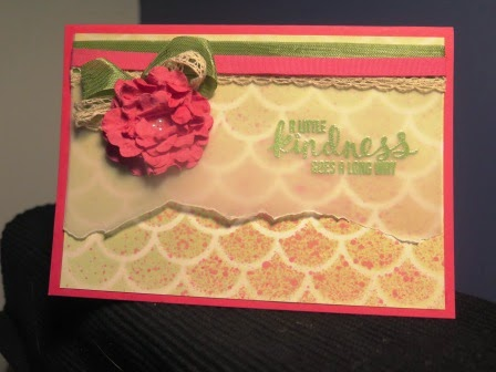Using velum zena kennedy independent stampin up demonstrator