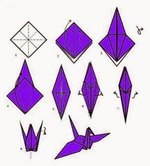 Cara Membuat Origami Burung Camar Blog Campuran