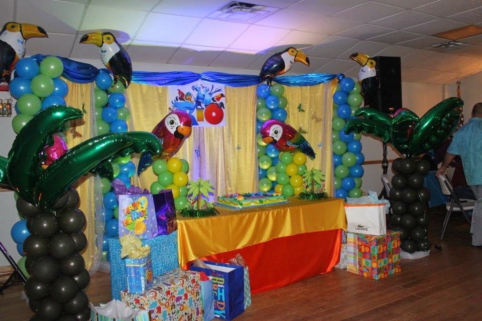 Fiestas Infantiles Decoradas con Rio, parte 2