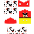 Mickey Mouse: Free Printable Candy Packages Support.
