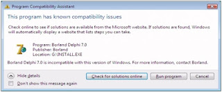 Cara Menginstal Delphi di Windows 7