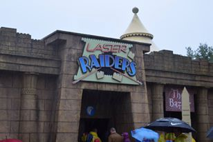 LASER Raiders at LEGOLAND Windsor