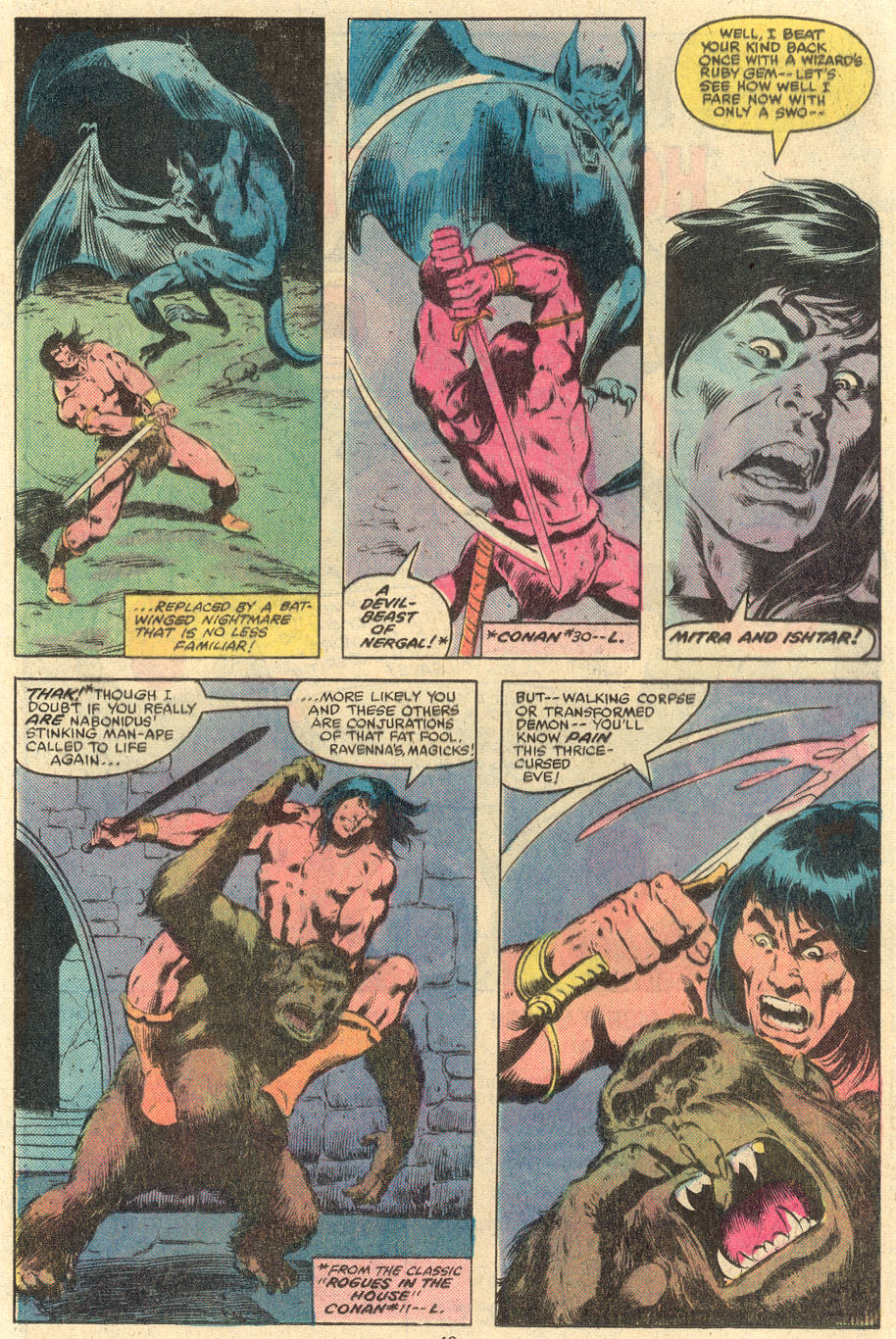 Conan the Barbarian (1970) Issue #119 #131 - English 16