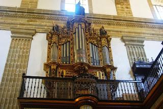 monasterio de Corias, organo iglesia