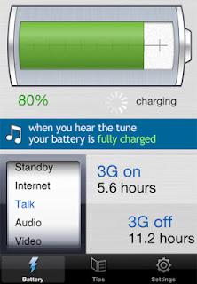 Battery Tune Charging Status App