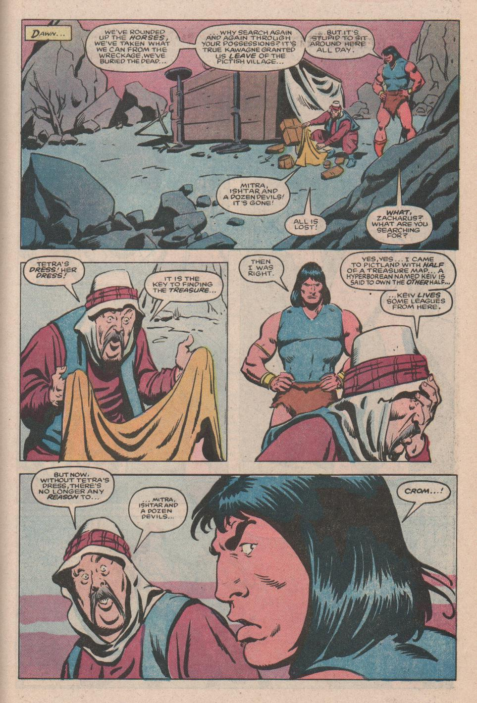 Conan the Barbarian (1970) Issue #172 #184 - English 22