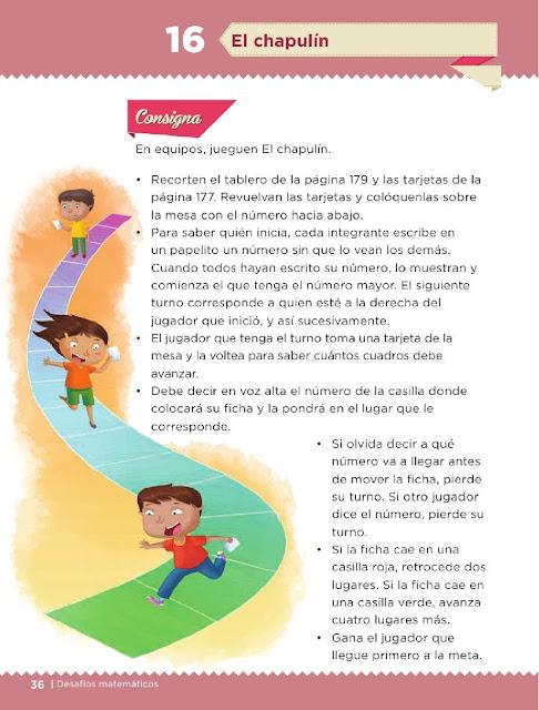 Apoyo Primaria Desafíos Matemáticos 2do Grado Bloque 2 Lección 16 El Chapulín