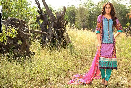 Sania Zara Embroidered Collection 2015 By ZS Textile