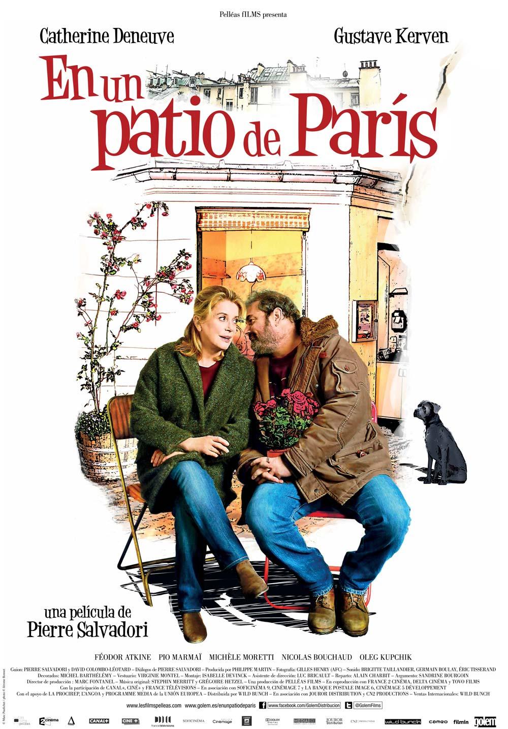 Em um Pátio de Paris – Dublado (2014)