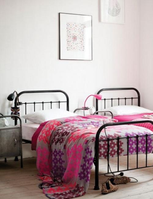 10 dormitorios con camas de hierro vintage10 pretty bedrooms with ...