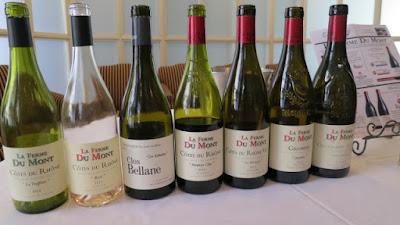 La Ferme Du Mont Wine Lineup