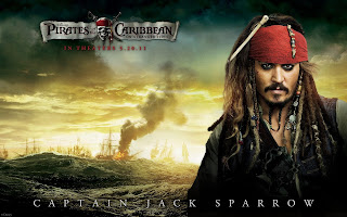 Pirates of the Caribbean Captain Jack Sparrow HD Wallpaper