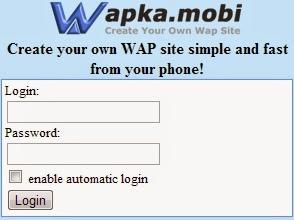 wapka text size