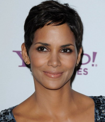 Black Short Pixie Hairstyles 2013