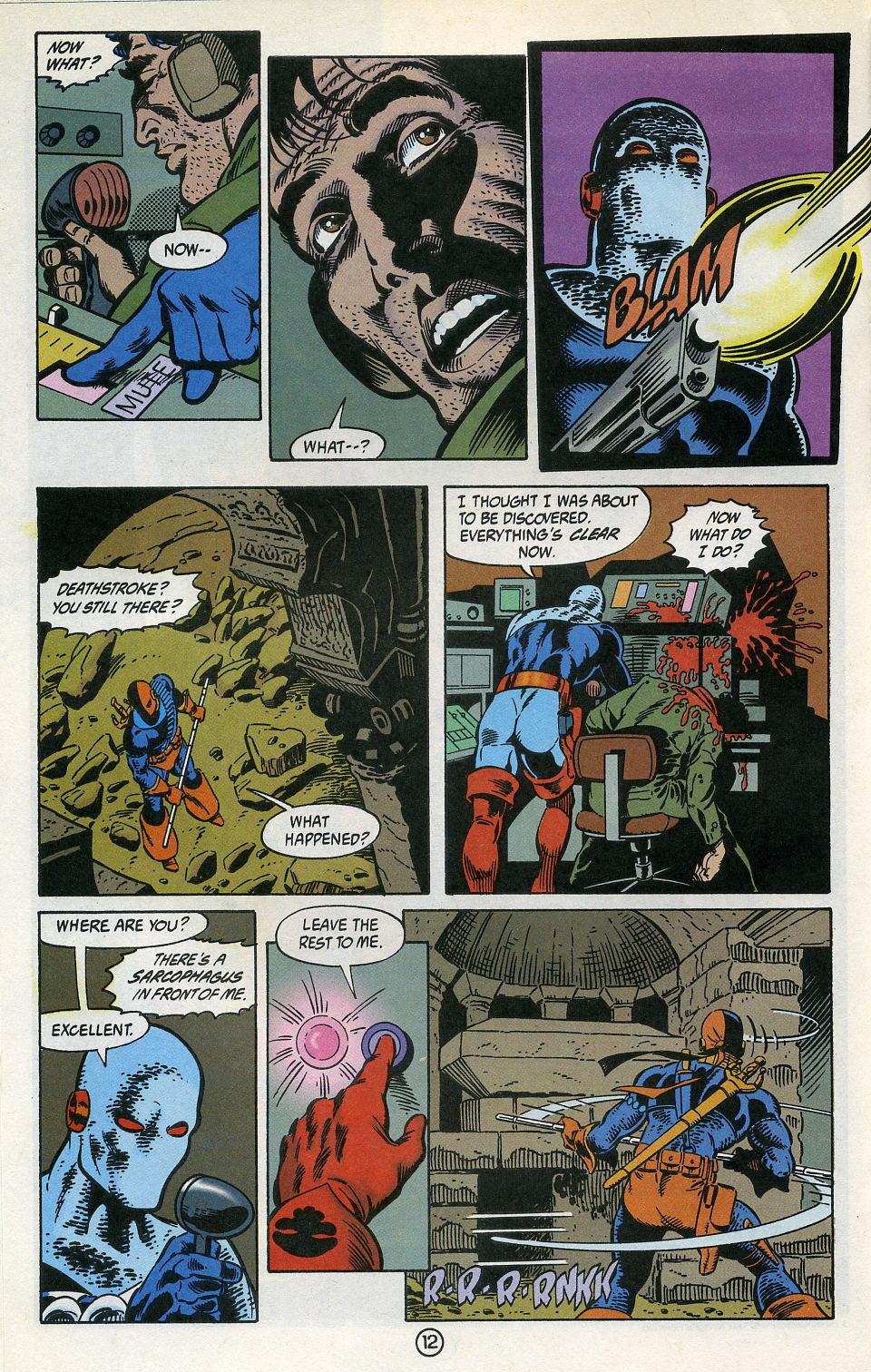 Deathstroke (1991) Issue #3 #8 - English 16