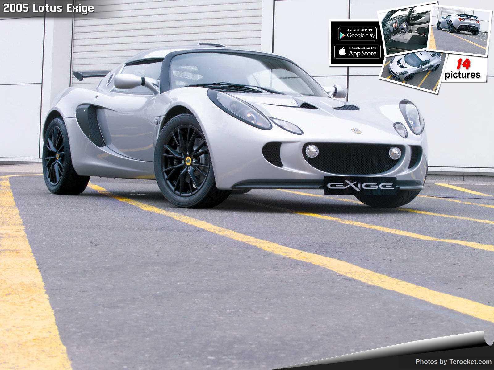 Hình ảnh siêu xe Lotus Exige 2005 & nội ngoại thất