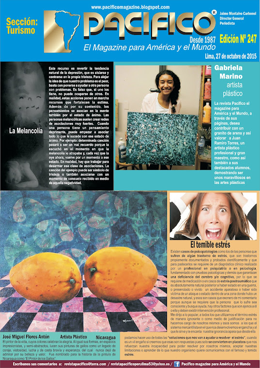 Revista Pacífico Nº 247 Turismo