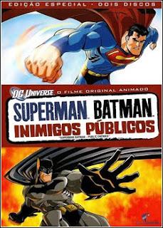Download - Superman/Batman - Inimigos Públicos DVDRip - AVI - Dual Áudio