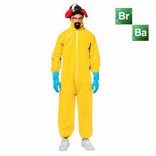 disfraz Walter White. Breaking Bad.