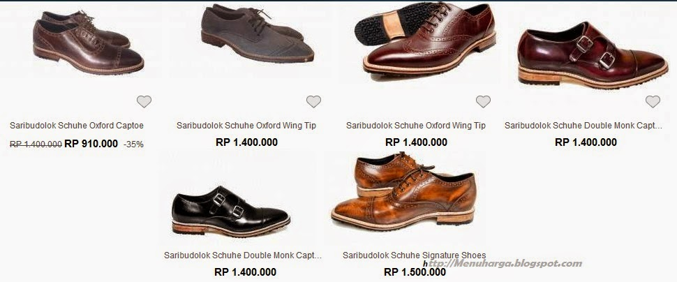 Harga Sepatu Pria Saribudolok Schuhe