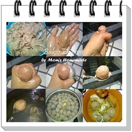 Cara membuat bakso