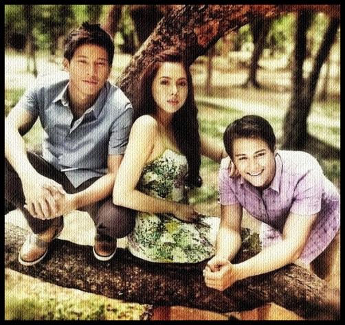 Julia, Enchong and Enrique 'Muling Buksan Ang Puso' Triangle