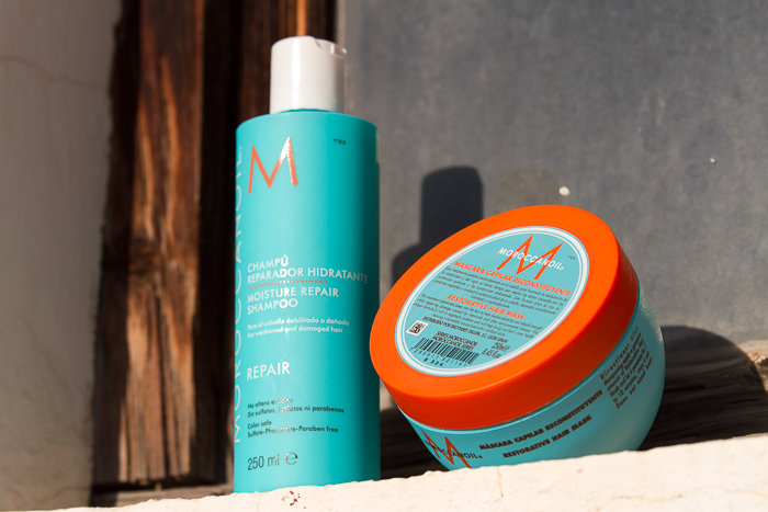 Restorative Hair Mask Moroccanoil for damaged hair
