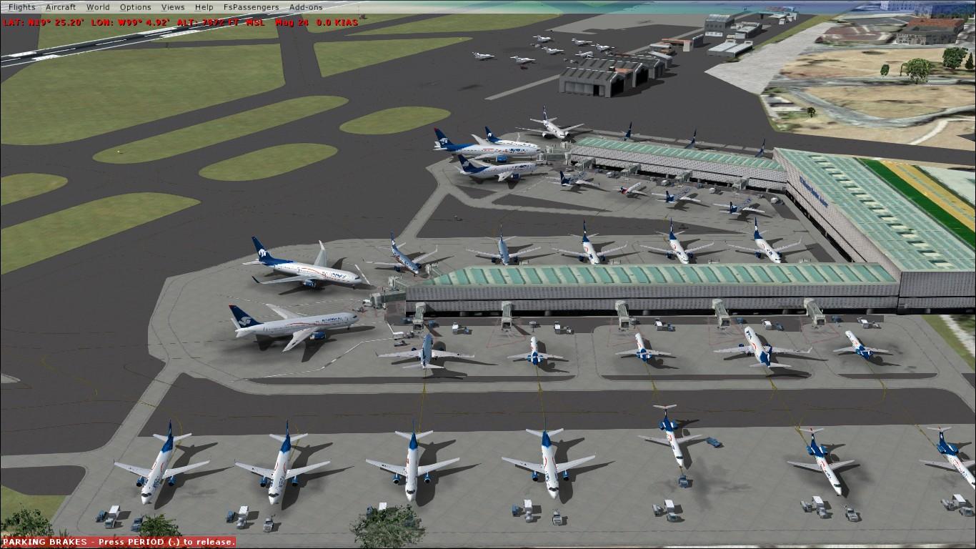 Aeropuerto internacional benito ju rez mmmx fsx fs9 - Aeropuerto de los cabos mexico ...