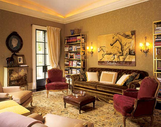 Victorian Living Room Decorating Ideas Wall Color Trend Home Design