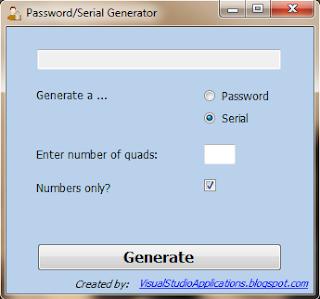 Serial Generator